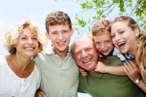 Happy Family w older children by photostock
